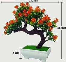 LOF-fei Künstliche Pflanzen Büro Home Dekoration
