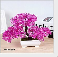 LOF-fei Künstliche Pflanzen Dekoration Büro