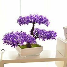 LOF-fei Künstliche Pflanzen Kübelpflanzen Bonsai