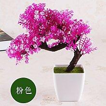 LOF-fei Künstliche Pflanzen Kübelpflanzen