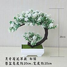 LOF-feiKünstliche Pflanzen Topfpflanzen Bonsai