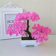 LOF-fei Künstliche Pflanzen Topfpflanzen Bonsai