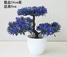 LOF-fei Künstliche Pflanzen Topfpflanzen Büro