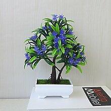 LOF-fei Künstliche Pflanzen Topfpflanzen Esstisch