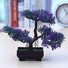 LOF-fei Künstliche Pflanzen Topfpflanzen Home