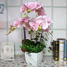 LOF-fei Kunstpflanze Orchidee Künstliche Blumen