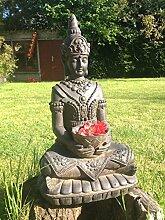 LOFT Asien la10-s66Thai Buddha Statue mit Seifenschale 36x 26x 66cm braun