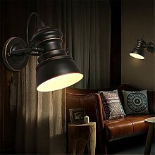 Loft industrial Wind retro Wandleuchten Zimmer bar Single Wandleuchten Wandleuchten am Bett, Bügeleisen Persönlichkei