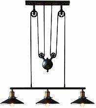 LOFT Retro Industrial Pendelleuchte Licht Design