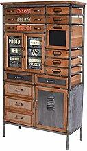 Loft Style Schrank Vintage Schubladenschrank