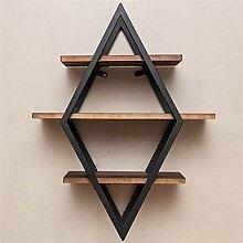 LOFT Wandbehang Cube Regal Für Schlafzimmer Als