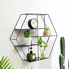 LOFT Wandhalterung Cube Regal für Schlafzimmer