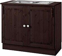 Loft24 A/S 2-TRG. Küchenunterschrank Küchenzeile