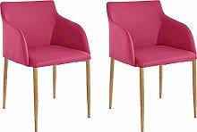 Loft24 NONI 2X Stuhl-Set Polsterstuhl