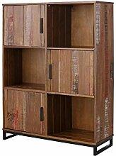 Loft24 Saturn Regal 3 Türen Bücherregal