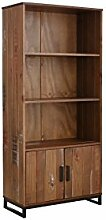 Loft24 Saturn Regal Kiefer Bücherregal 2 Türen