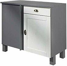 Loft24 Tilo Küchenunterschrank Küchenschrank