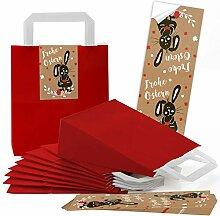 Logbuch-Verlag 10 kleine ROTE Verpackung