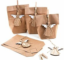 Logbuch-Verlag 10 natürliche Geschenkverpackungen