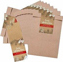 Logbuch-Verlag 10 x Weihnachtsverpackung
