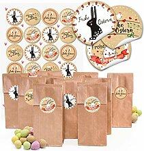 Logbuch-Verlag 48 kleine Ostertüten Papiertüten