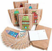 Logbuch-Verlag DIY Adventskalender Set 24