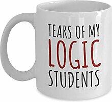 Logic Teacher Tasse Logic Teacher Geschenkidee