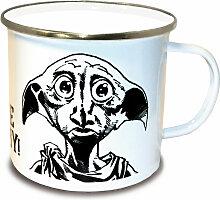 LOGOSHIRT Tasse mit tollem Dobby-Print