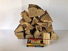 Logs Plus Feueranzünder und Streichhölzer