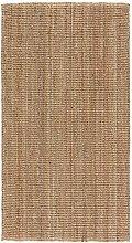 LOHALS Teppich Flachgewebt natur