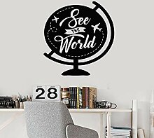 LOIUYT Baby World Fun World Aufkleber Abnehmbare