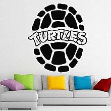LOIUYT Customized Tortoise Wandaufkleber