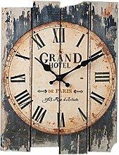 LoKauf Retro Wanduhr Vintage Geräuschlos Uhren