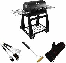 Lokkii Perfection Small Barrel Holzkohle Grill,