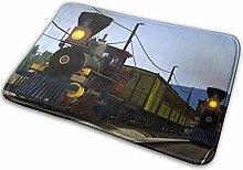 Lokomotive Zug Moderne Kunst Grün Persönlichkeit