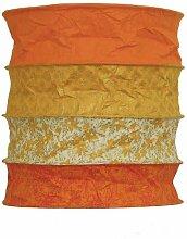 Lokta - Lampenschirm Bari orange aus