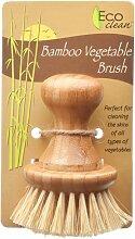Lola Eco Clean Bambus und Tampico Gemüsebürste