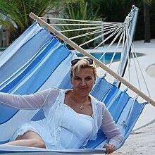 Lola Jamaica marine XXL Doppel-Stabhängematte