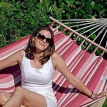 Lola Wetterfeste Stabhängematte Romana cocktail