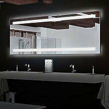 Lola4 - LED Badspiegel mit Beleuchtung - (B) 180