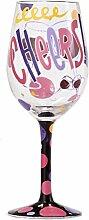 Lolita 4053097Gesundheit Standard Weinglas Mehrfarbig 22,5cm