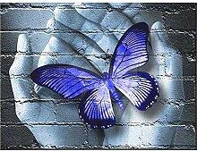 Lolobeauty 5D DIY Diamantmalerei Schmetterling