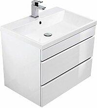 Lomado Badezimmermöbel Waschtisch 60cm ● mit