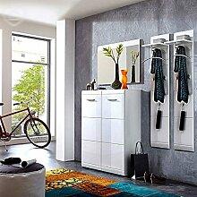 Lomado Garderoben Set ● 3-teilige Flurgarderobe