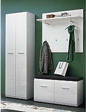 Lomado Komplett Garderoben Set ● 3-teilige