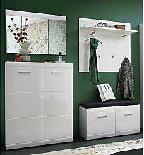 Lomado Komplett Garderoben Set ● 4-teilige