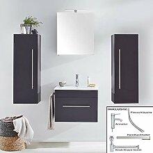Lomadox Badezimmer Set Waschtisch mit