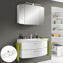 Lomadox - Badezimmer Waschplatz Set CERVIA-66 in