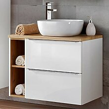 Lomadox Badezimmer Waschtisch Set mit 60cm
