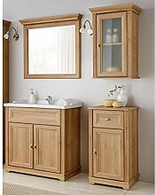 Lomadox Badezimmermöbel Set im Landhausstil ●